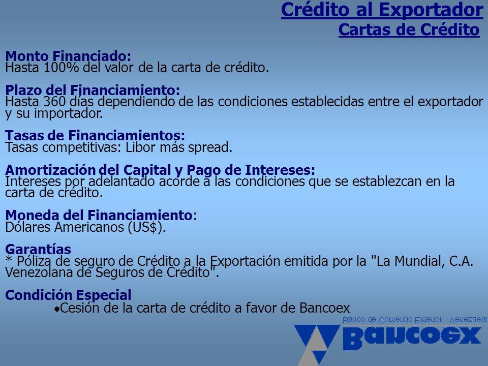 Crédito al Exportador