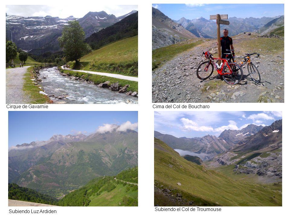 Cirque de Gavarnie Cima del Col de Boucharo Subiendo el Col de Troumouse Subiendo Luz Ardiden