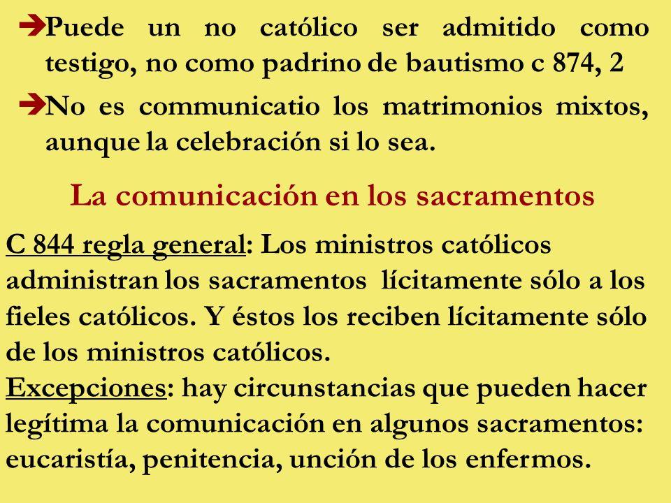 La comunicación en los sacramentos