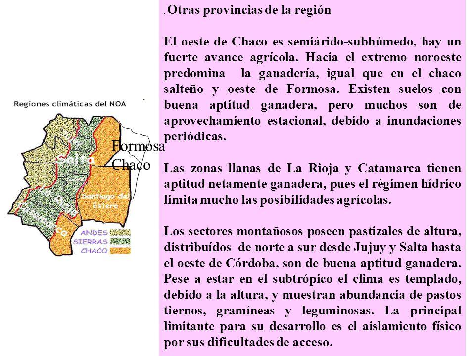 . Otras provincias de la región
