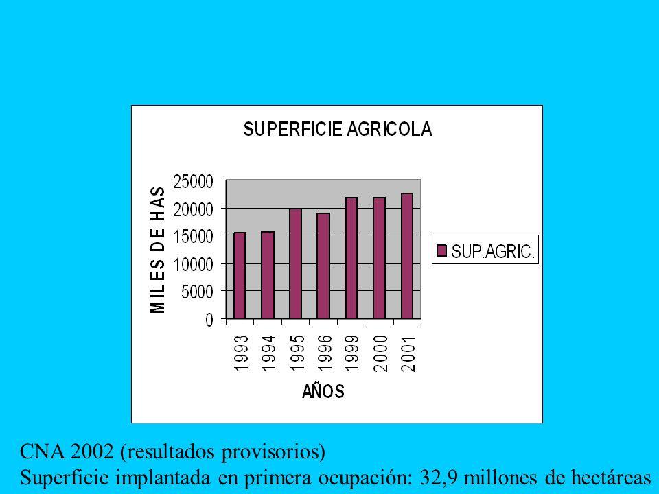CNA 2002 (resultados provisorios)