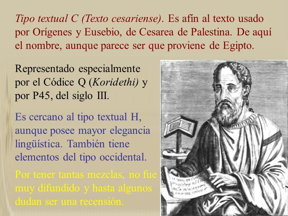 Tipo textual C (Texto cesariense)