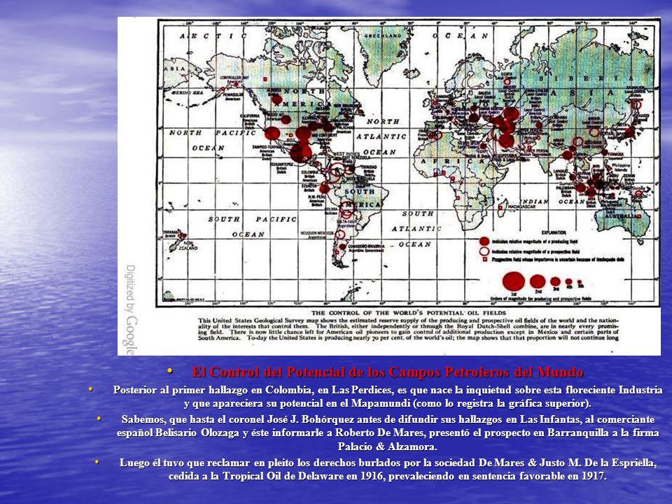 El Control del Potencial de los Campos Petroleros del Mundo