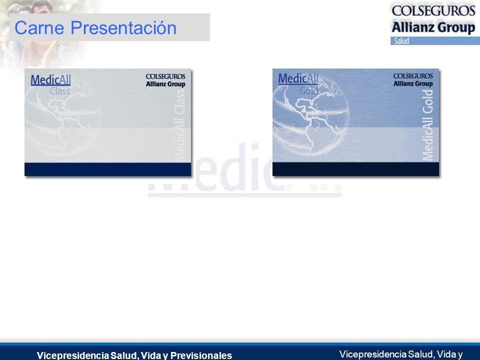 Carne Presentación Vicepresidencia Salud, Vida y Previsionales