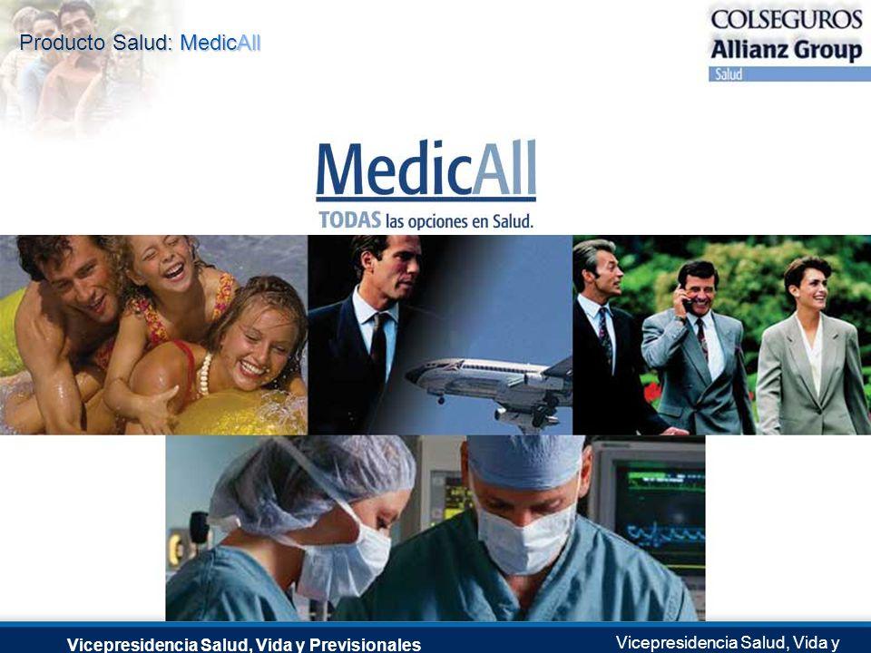 Vicepresidencia Salud, Vida y Previsionales