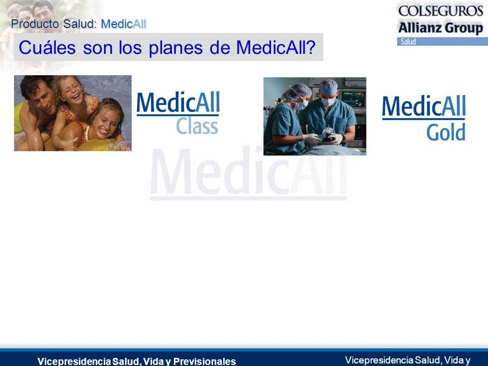Cuáles son los planes de MedicAll