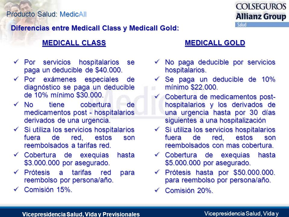 MEDICALL CLASS MEDICALL GOLD