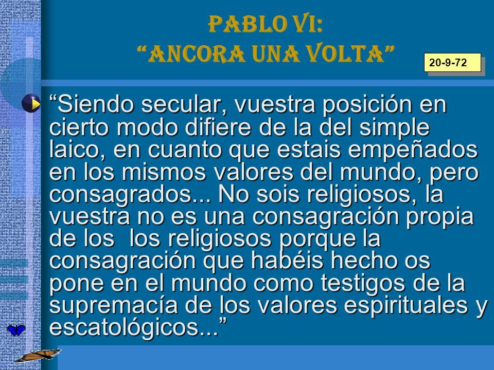 Pablo VI: Ancora una volta