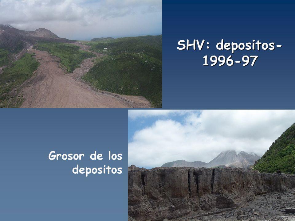 SHV: depositos-1996-97 Grosor de los depositos