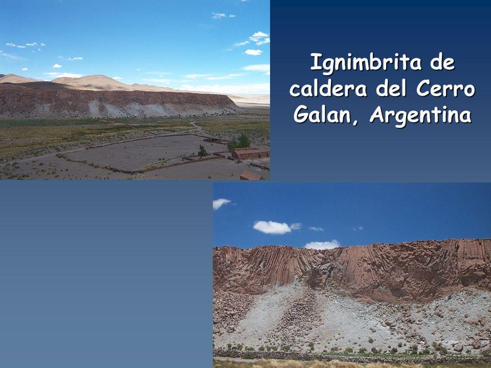 Ignimbrita de caldera del Cerro Galan, Argentina