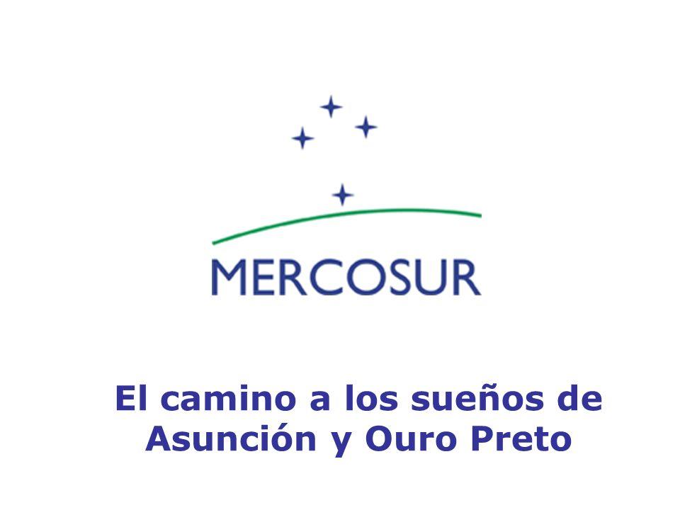 El camino a los sueños de Asunción y Ouro Preto