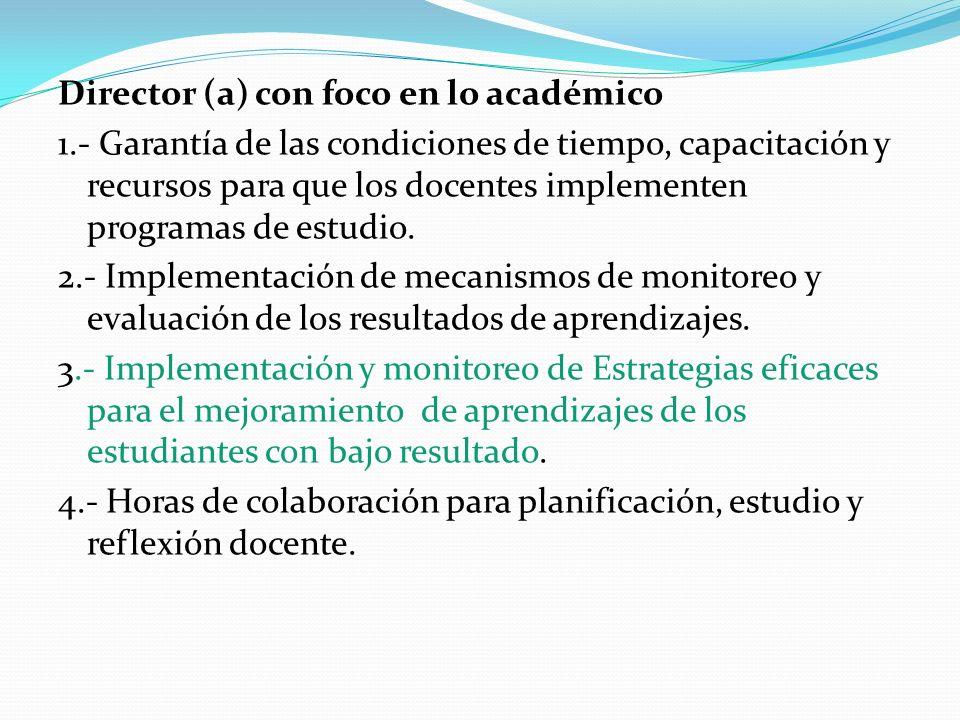 Director (a) con foco en lo académico 1