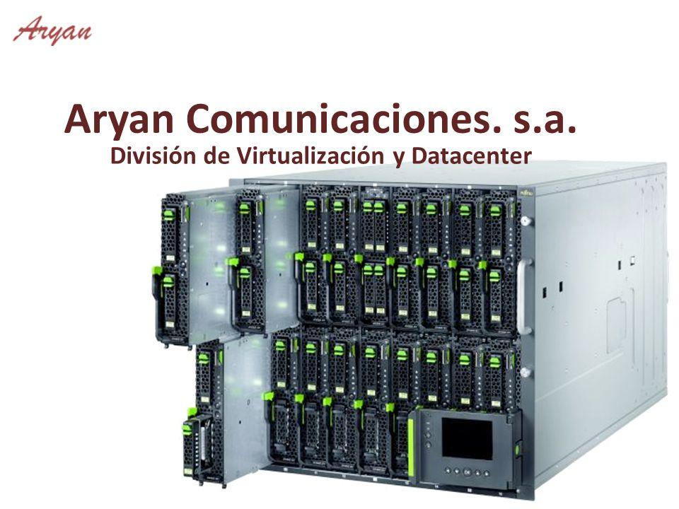 Aryan Comunicaciones. s.a. División de Virtualización y Datacenter