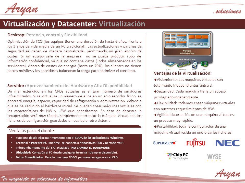 Virtualización y Datacenter: Virtualización