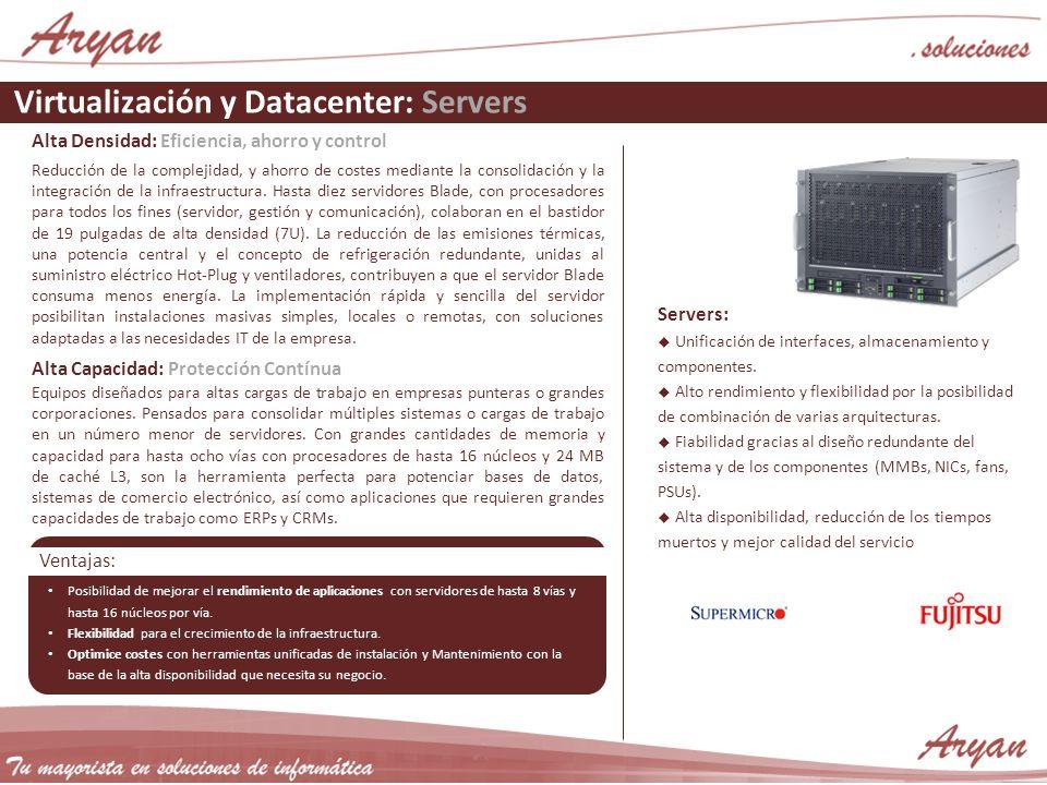 Virtualización y Datacenter: Servers