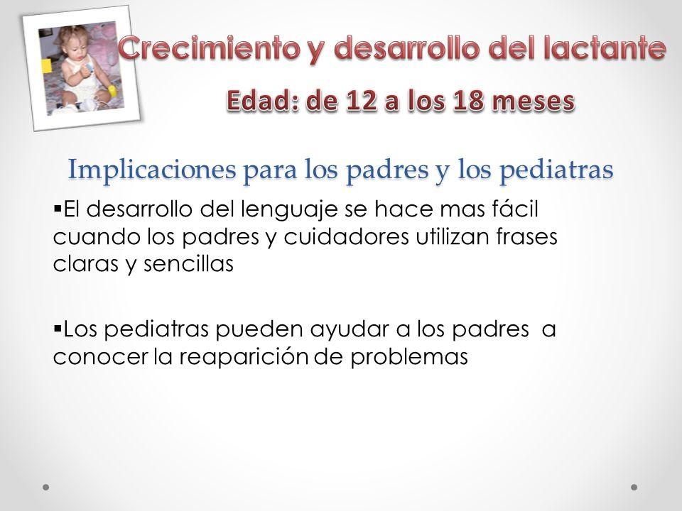 Implicaciones para los padres y los pediatras