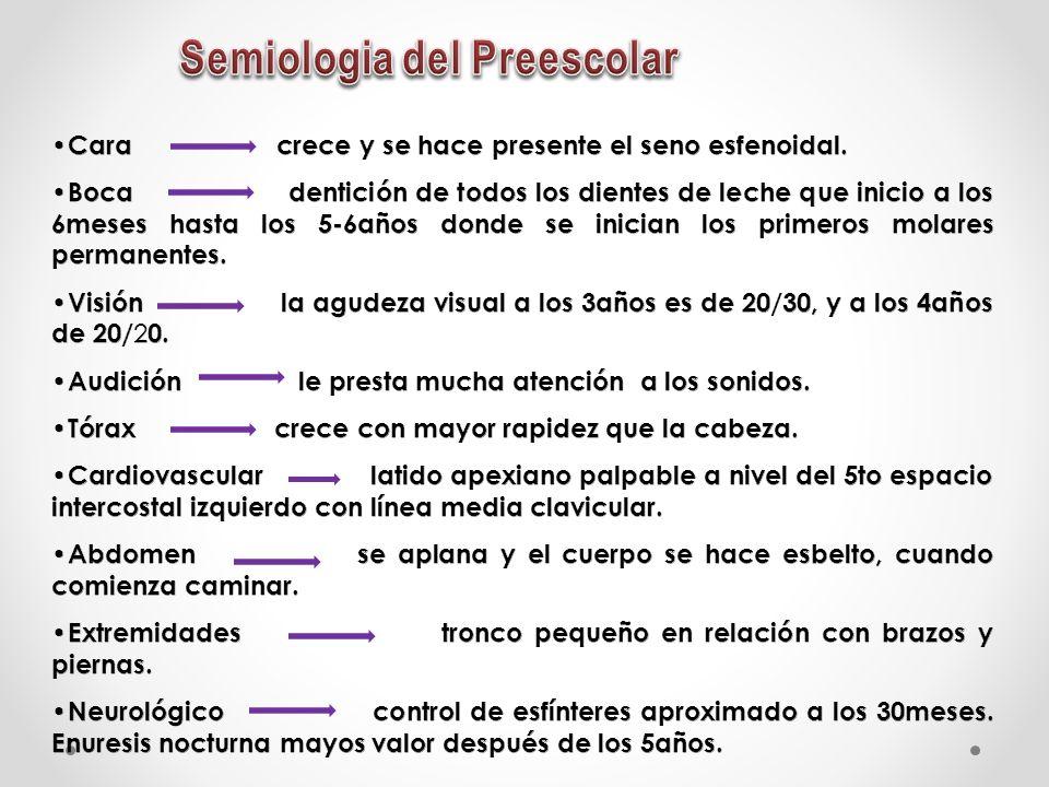 Semiologia del Preescolar
