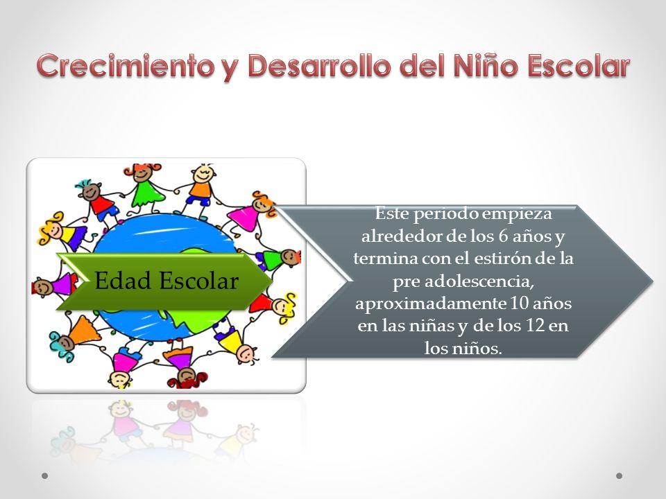 Crecimiento y Desarrollo del Niño Escolar