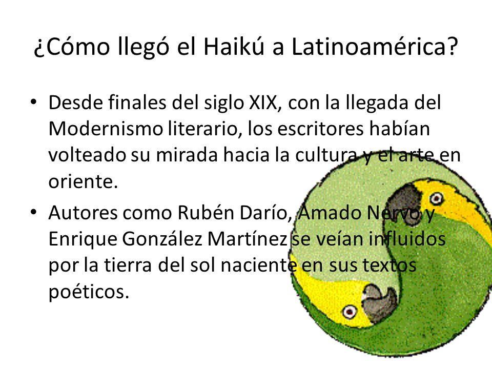 ¿Cómo llegó el Haikú a Latinoamérica
