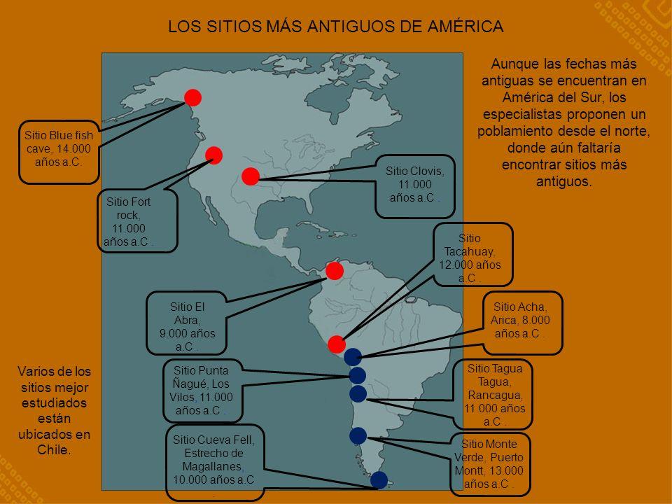 LOS SITIOS MÁS ANTIGUOS DE AMÉRICA
