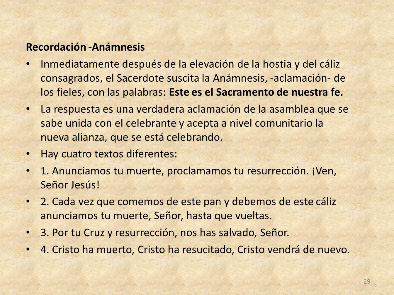 Recordación -Anámnesis
