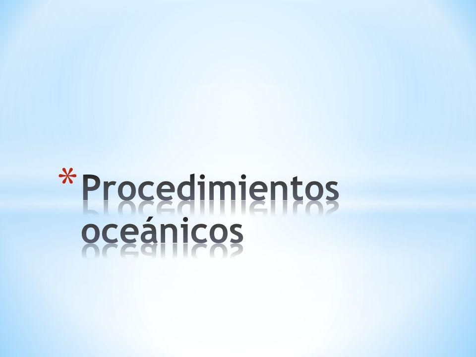 Procedimientos oceánicos