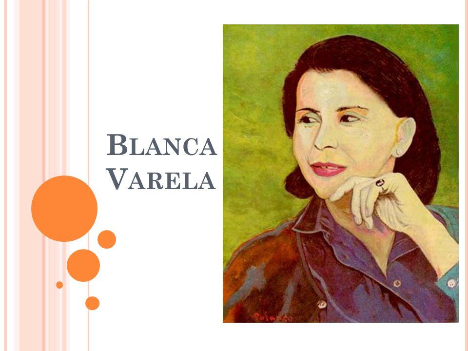 Blanca Varela