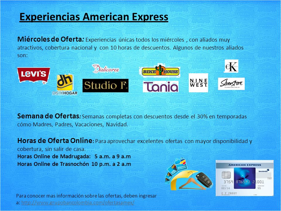 Experiencias American Express