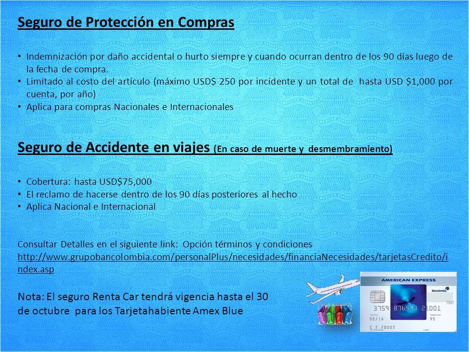 Seguro de Protección en Compras