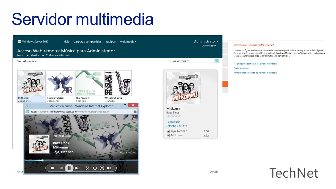 Servidor multimedia