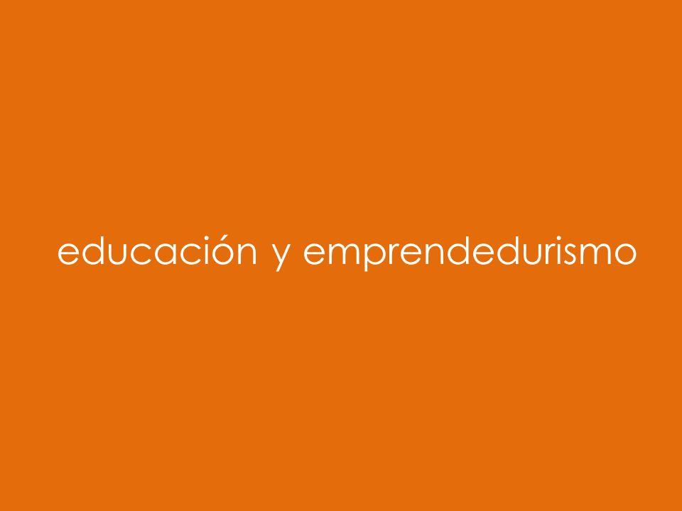 educación y emprendedurismo