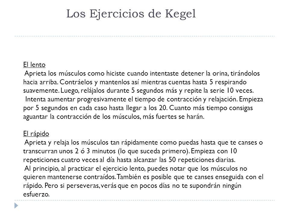 Los Ejercicios de Kegel