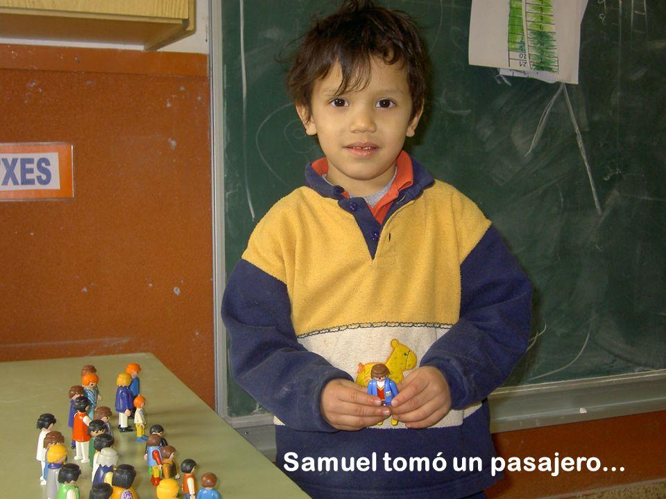Samuel tomó un pasajero…