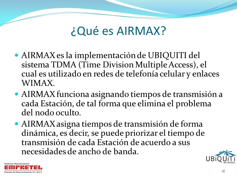 ¿Qué es AIRMAX