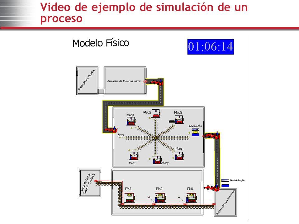 Video de ejemplo de simulación de un proceso