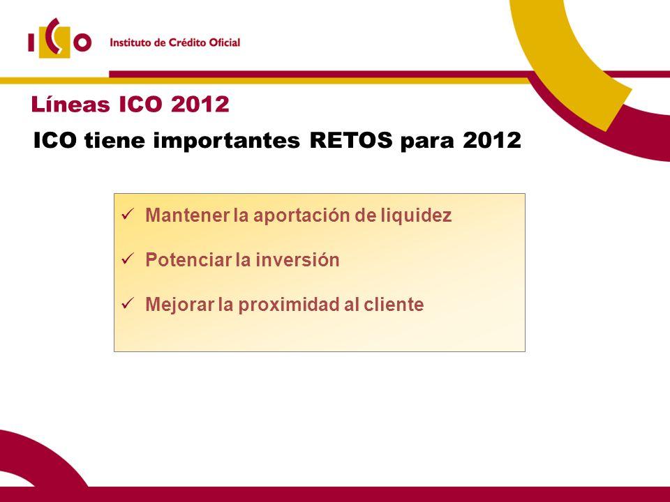 ICO tiene importantes RETOS para 2012