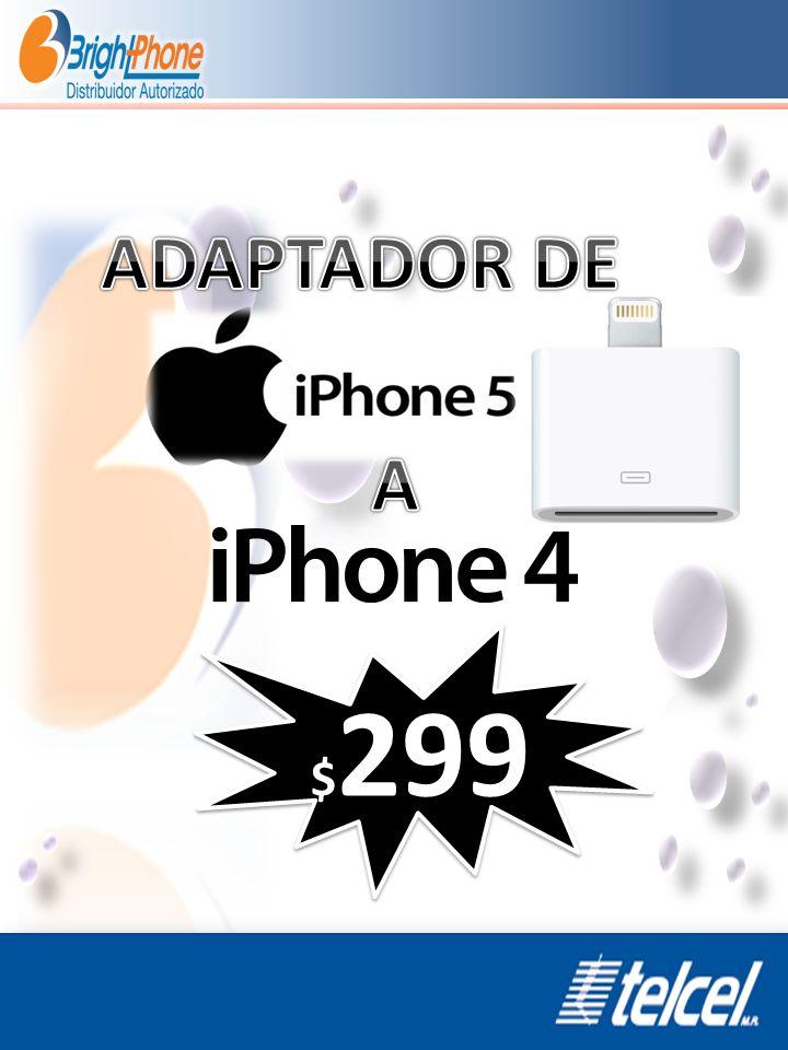 ADAPTADOR DE A $299