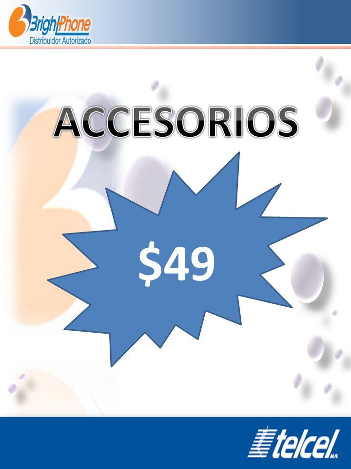 ACCESORIOS $49