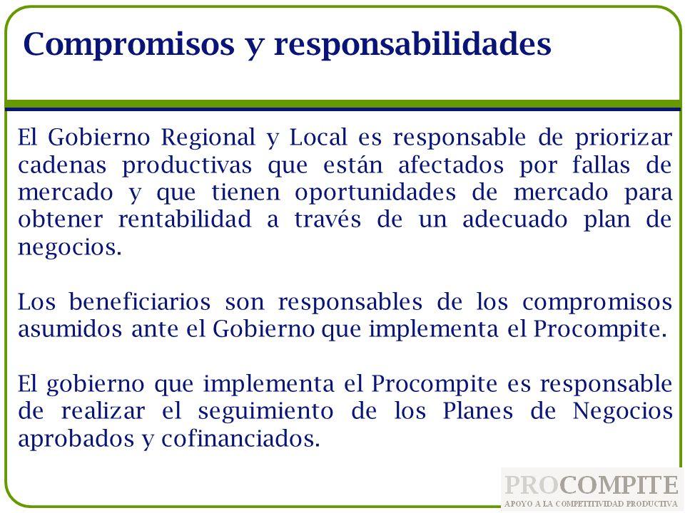 Compromisos y responsabilidades