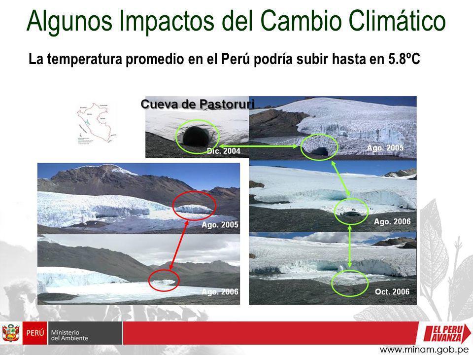 Algunos Impactos del Cambio Climático