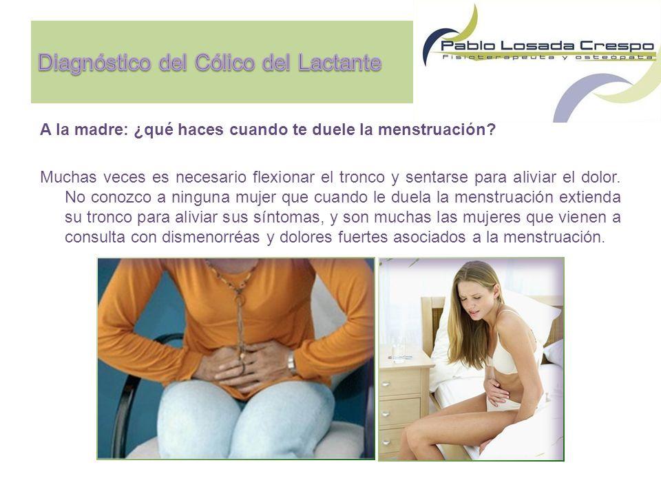 Diagnóstico del Cólico del Lactante