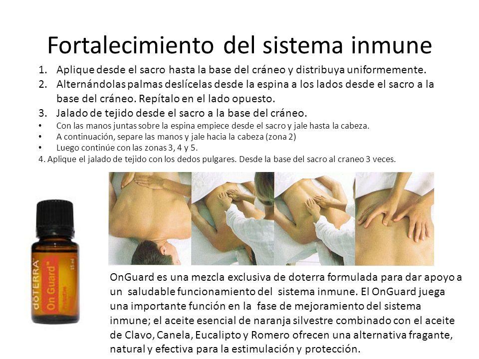 Fortalecimiento del sistema inmune
