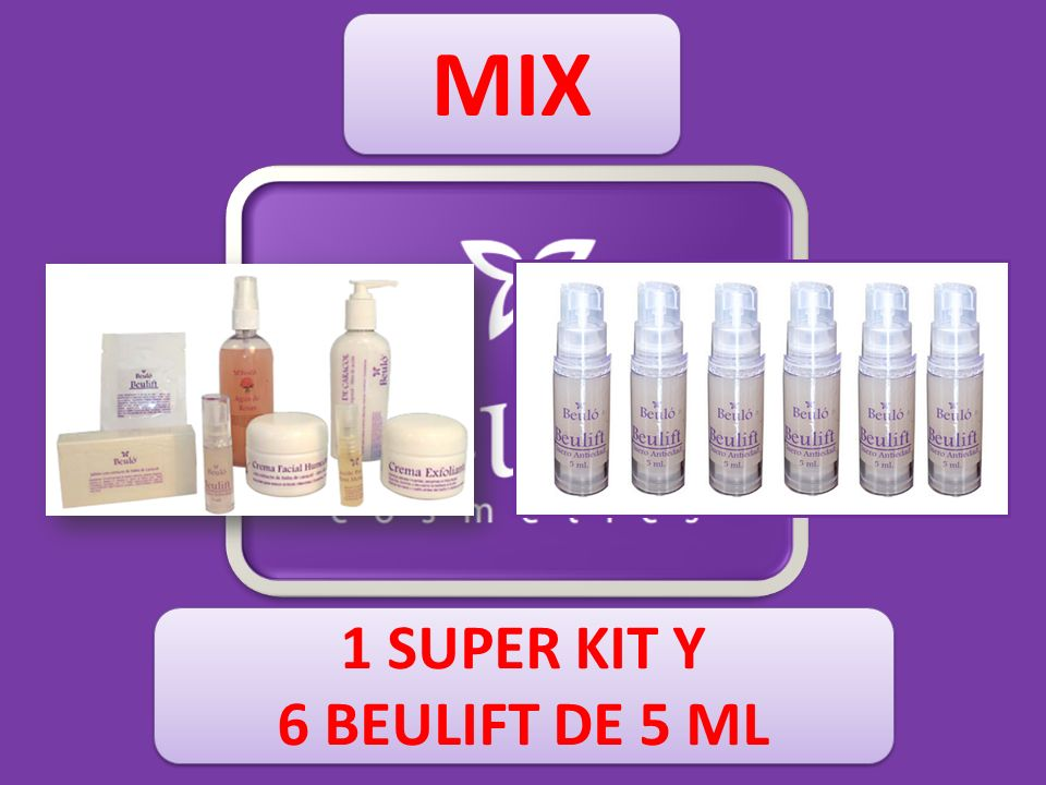 MIX 1 SUPER KIT Y 6 BEULIFT DE 5 ML