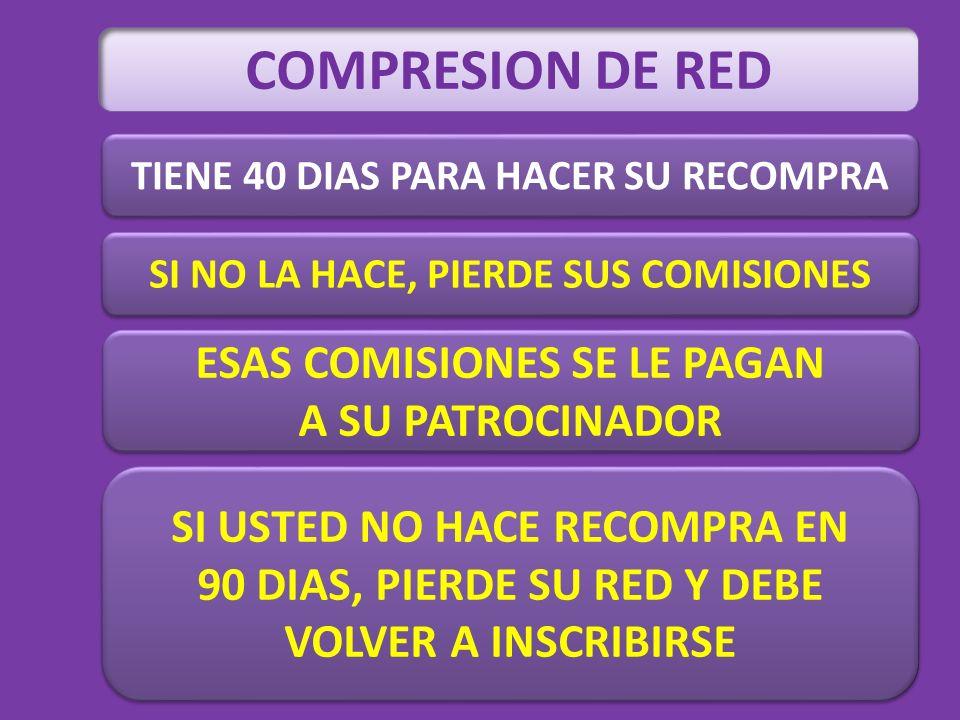 COMPRESION DE RED ESAS COMISIONES SE LE PAGAN A SU PATROCINADOR