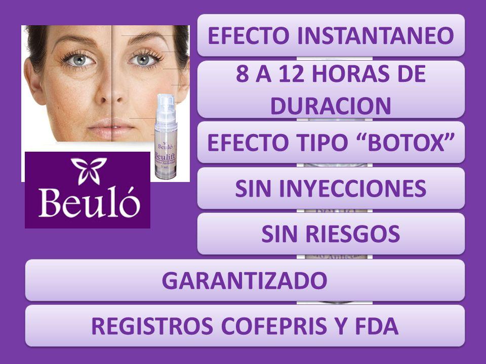 REGISTROS COFEPRIS Y FDA