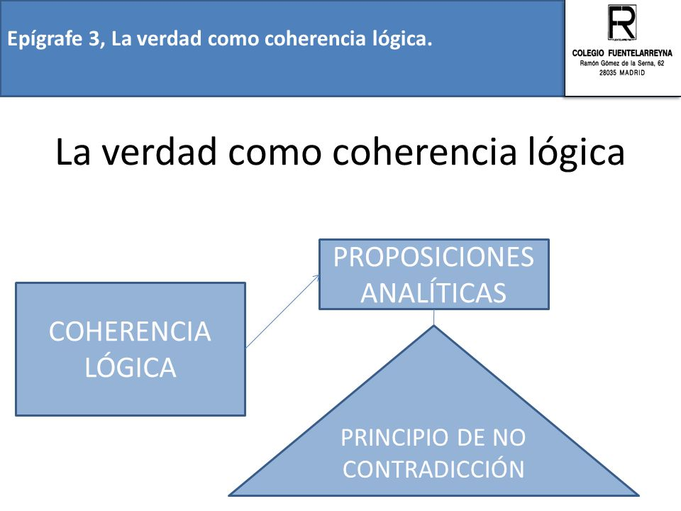 La verdad como coherencia lógica