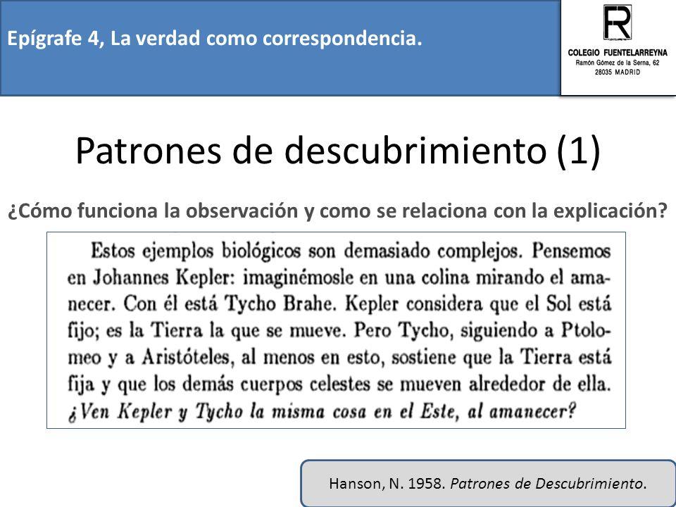 Patrones de descubrimiento (1)