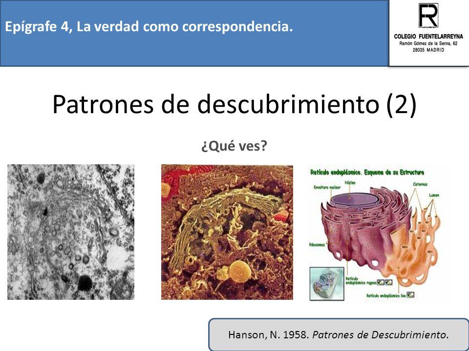 Patrones de descubrimiento (2)