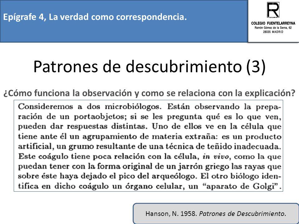Patrones de descubrimiento (3)