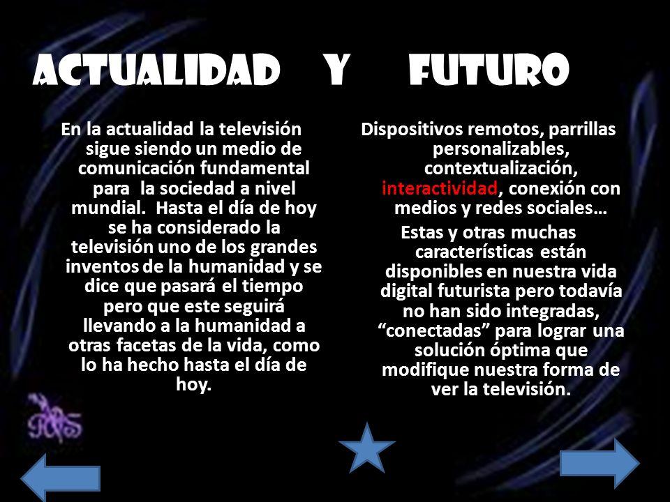 ACTUALIDAD Y FUTURO